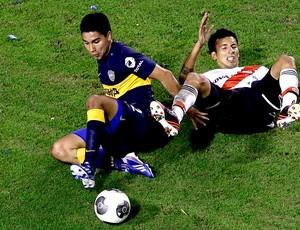 jogo Boca Juniors clássico River Plate (Foto: AP)