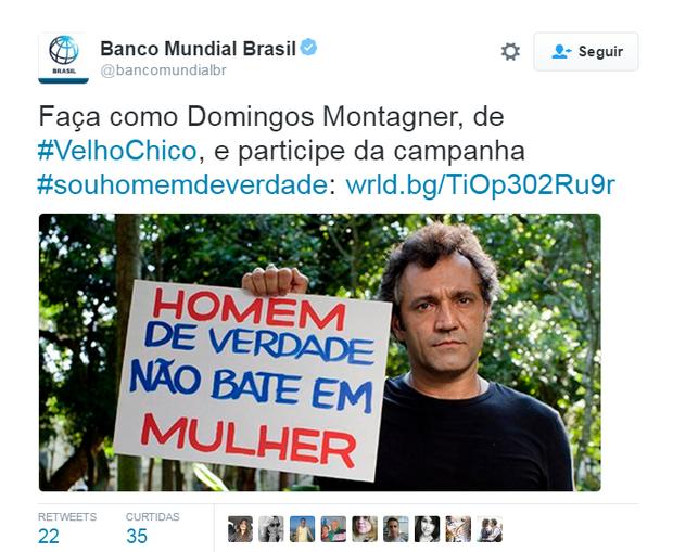 Repercussão da morte de Domingos Montagner (Foto: Reprodução/Twitter)