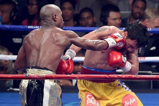 Maldição do boxe deve ser o próximo adversário de Floyd Mayweather Jr.
