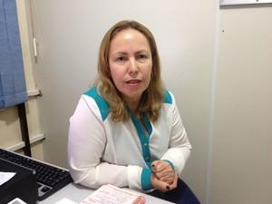 Rosinete Rodrigues, coordenadora de educação básica e profissional da Seed  (Foto: John Pacheco/G1)