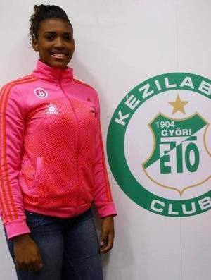 Tamires Morena fechou contrato com o Gyori, da Hungria (Foto: Reprodução/Facebook)
