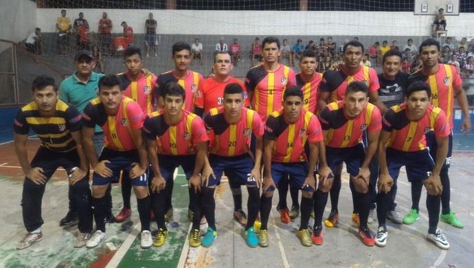 Rivera, time de futsal de Tarauacá (Foto: Divulgação/Fafs)