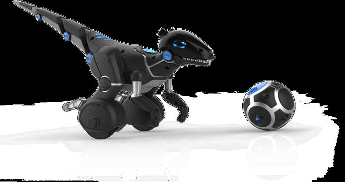 A bola faz com que o dinossauro o siga e alterne entre modos de jogo (Foto: Divulgação/WowWee) (Foto: A bola faz com que o dinossauro o siga e alterne entre modos de jogo (Foto: Divulgação/WowWee))