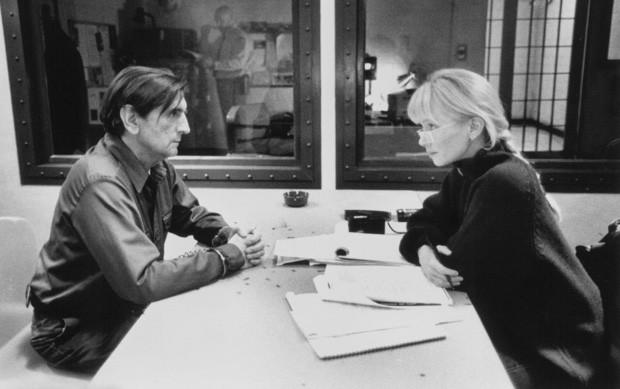 Rebecca De Mornay e Harry Dean Staton, seu namorado à época de affair com Tom Cruise (Foto: Reprodução)