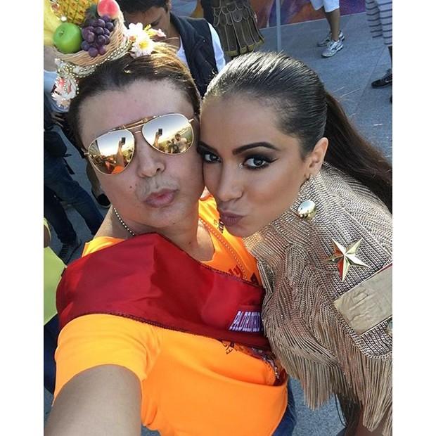 David Brazil e Anitta (Foto: Reprodução/Instagram)