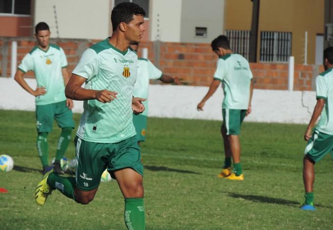 Atacante Geraldo foi artilheiro do Campeonato Capixaba 2014 com 11 gols marcados (Foto: Sampaio/Divulgação)