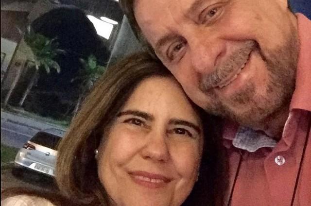 Mayara Magri e Flávio Galvão (Foto: Reprodução)