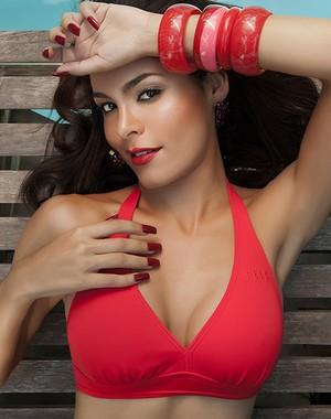Hylka trabalha como modelo no México (Foto: Arquivo pessoal)