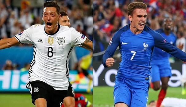 Alemanha e França se enfrentam nessa quinta, dia 07  (Foto: Foto: Reprodução globoesporte.com)