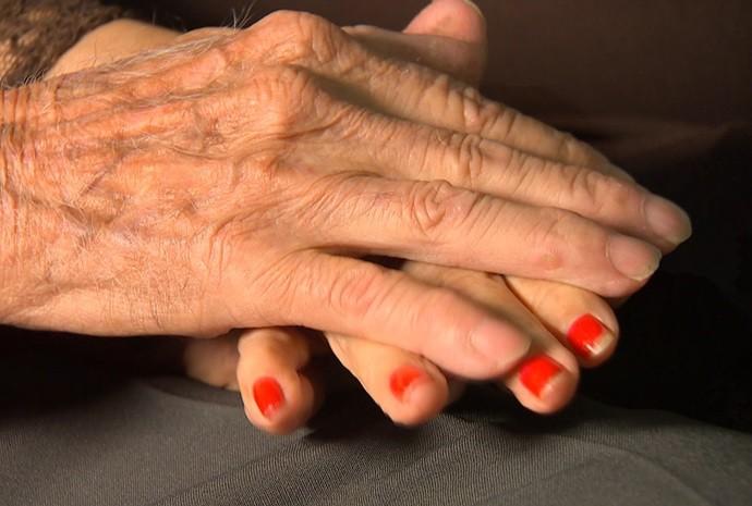 Um amor que ultrapassa décadas! (Foto: Reprodução / TV TEM)