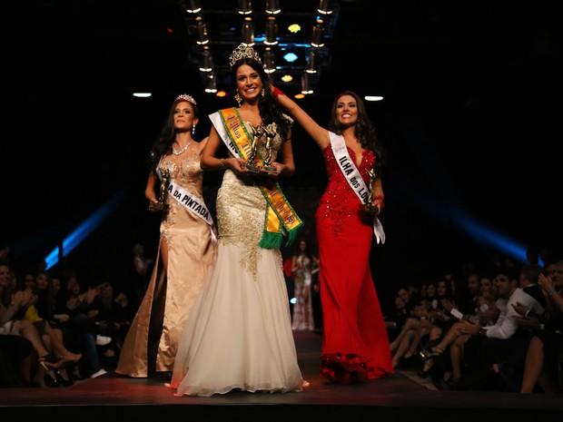 Vencedora foi a representante do Rio Grande do Sul  (Foto: Leonardo Rodrigues/Divulgação)