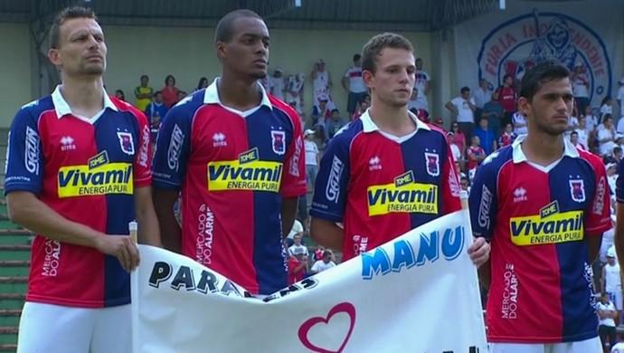 Paraná Clube contra o Rio Branco-PR (Foto: Reprodução/RPC)