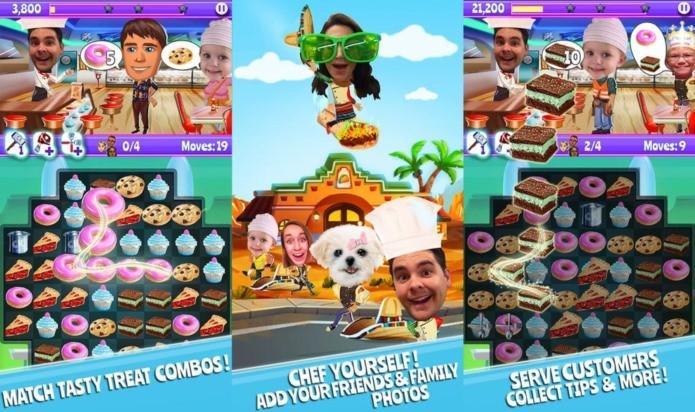 Comida e puzzle em um delicioso jogo para iPhone e iPad (Foto: Divulgação)