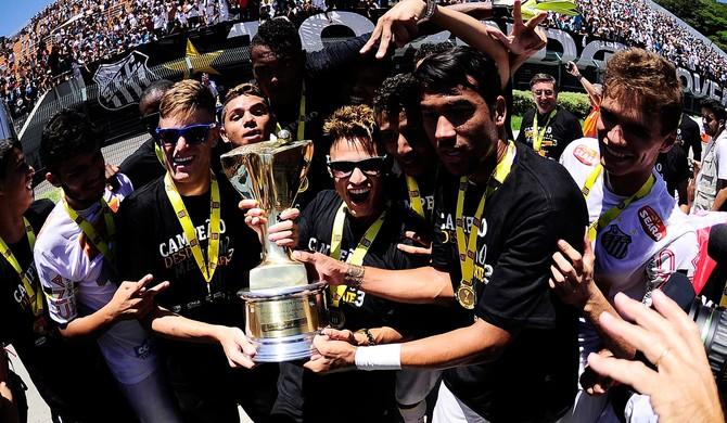 Copinha - Corinthians x Santos - Santos Campeão (Foto: Marcos Ribolli)