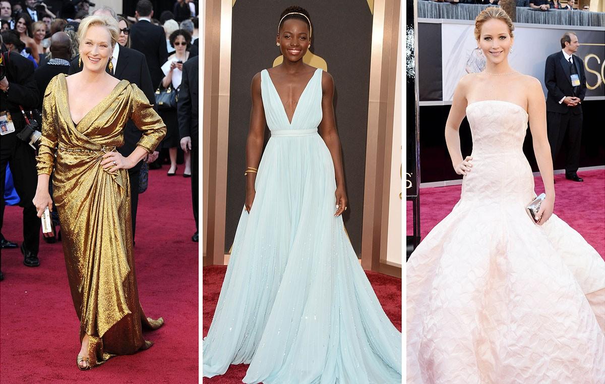 Confira os melhores vestidos do Oscar em todos os tempos