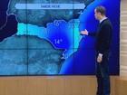 Cidades da Serra de SC amanhecem com temperaturas negativas e geada