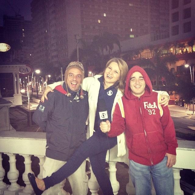 Alex Ferreira, Vanessa Faro e Alexandre Gomes (Foto: arquivo pessoal)