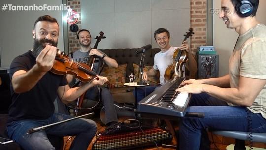 Lucas Lima relembra desafios musicais e diz que Família Lima pode gravar CD de funk