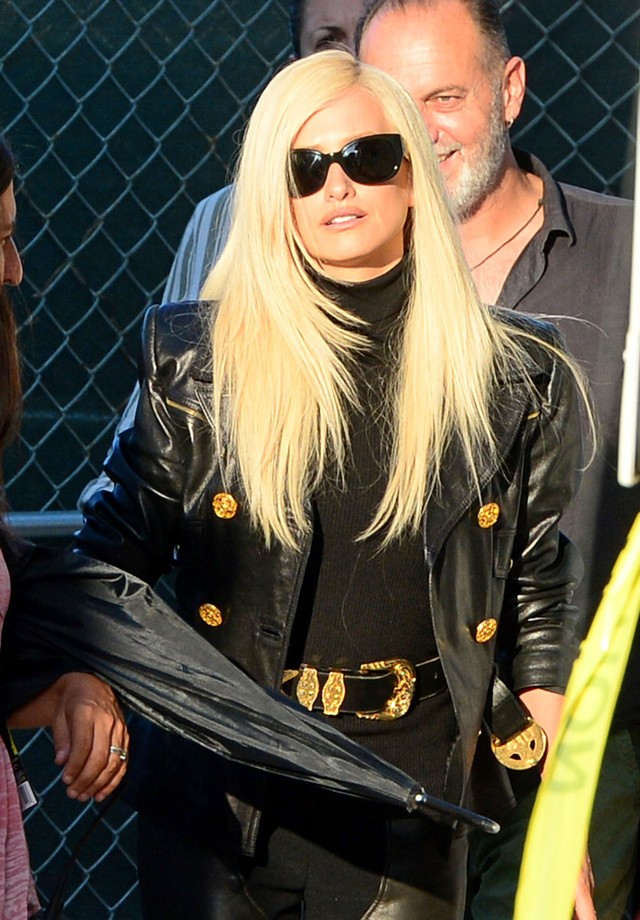 Penelope Cruz como Donatella Versace (Foto: AKM-GSI)