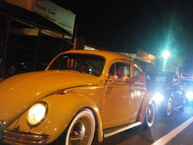 Encontro de carros antigos acontece em Campinas (SP) (Foto: Osias Ribeiro de Queiroz)