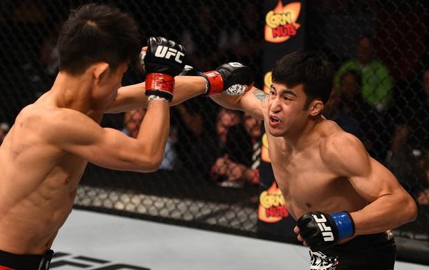 Joby Sanchez x Tateki Matsuda, UFC (Foto: Getty Images)