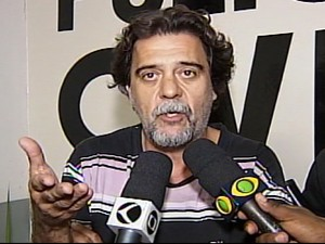 Ex-prefeito Patrocínio Julio Elias preso (Foto: Reprodução/TV Integração)