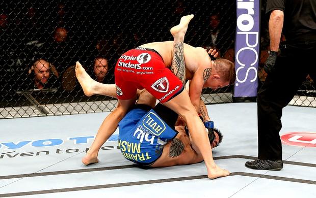 Erik Koch luta UFC 170 (Foto: Getty Images)