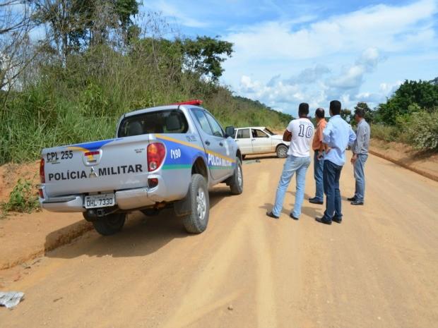Polícia Militar passou a atender ocorrências na rodovia 421  (Foto: Eliete Marques/G1)