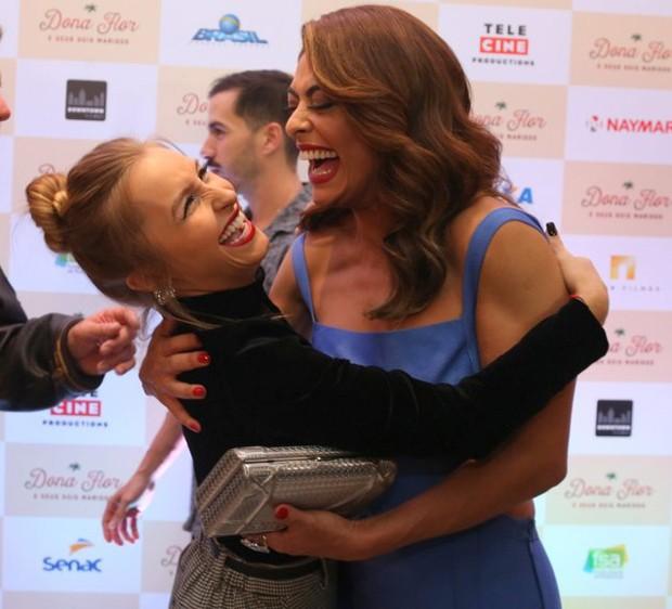 Carla Diaz e Juliana Paes (Foto: André Freitas/AgNews)