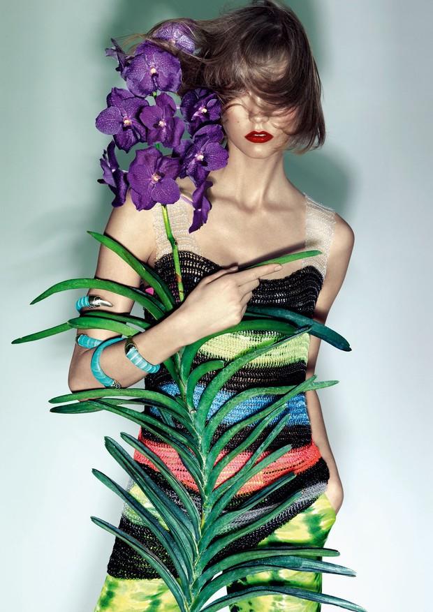 Karlie Kloss para a Vogue Brasil (Foto: Zee Nunes/Arquivo Vogue)