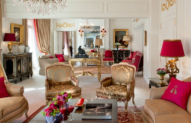 The Royal Suite (Hotel Plaza Athenee), Paris (Foto: Divulgação)