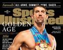 Michael Phelps a foto com os 23 ouros e pobre pescoço