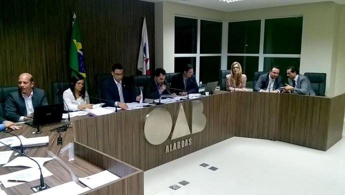 reuniao tjd-al csa crb (Foto: Divulgação/TJD-AL)