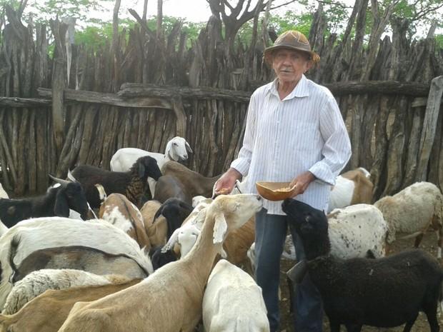 Seu David diz nunca esteve na capital do Pará (Foto: Agnaldo Macedo/Arquivo Pessoal)