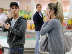Daniel é filho de Danielle Winits na ficção (Foto: Malhação / Tv Globo)