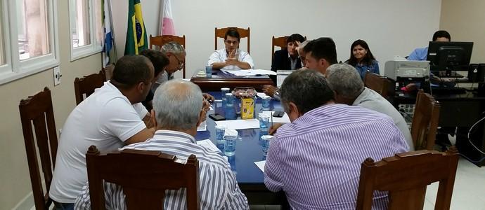 Arbitral do Campeonato Capixaba (Foto: Sidney Magno Novo/GloboEsporte.com)