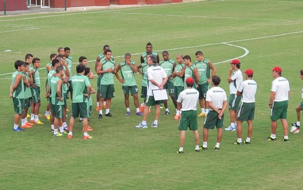 Fluminense se reapresenta nas Laranjeiras (Foto: Rafael Cavalieri/Globoesporte.com)