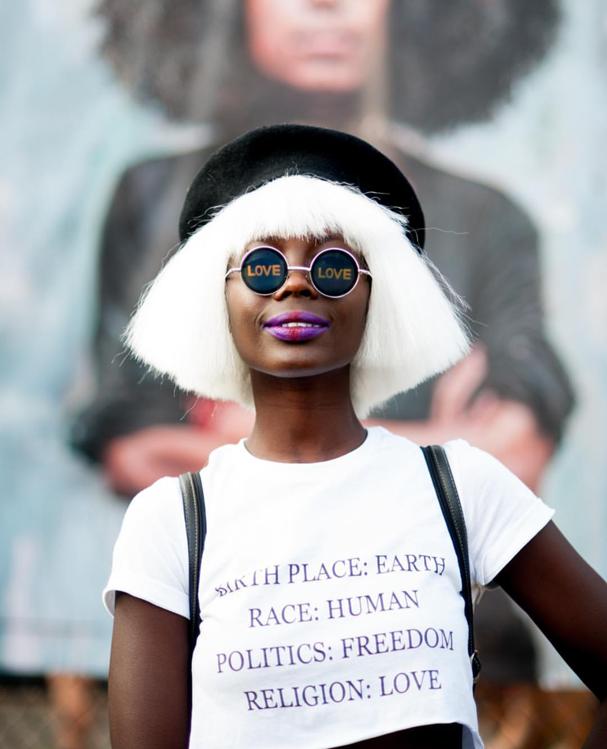 Cabelos do Afropunk (Foto: Reprodução Instagram @ap2photography)