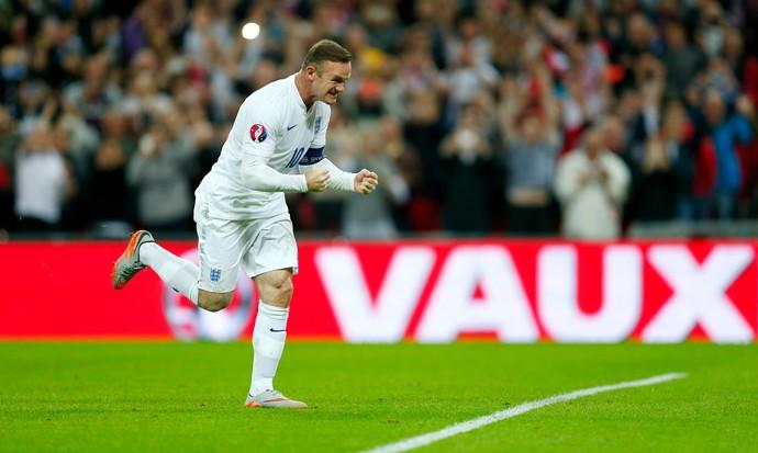Wayne Rooney Inglaterra Suíça (Foto: Reuters)