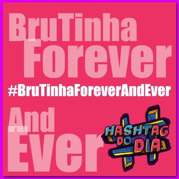 #HashtagDoDia: BruTinhaForeverAndEver (Foto: Malhação / TV Globo)