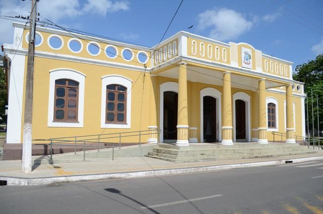 Centro Cultural João Fona, Patrimônio Histórico e Cultural de Santarém (Foto: Adonias Silva/G1)