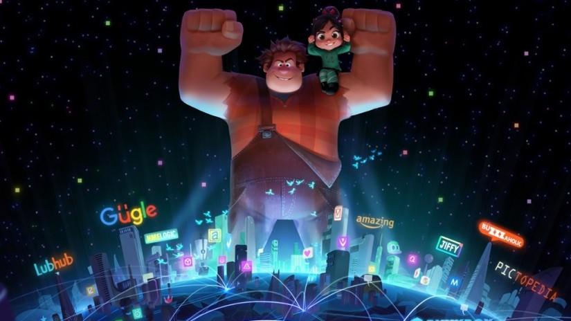 Ealph e Vanellope em 'Detona Ralph 2' (Foto: Divulgação Disney)