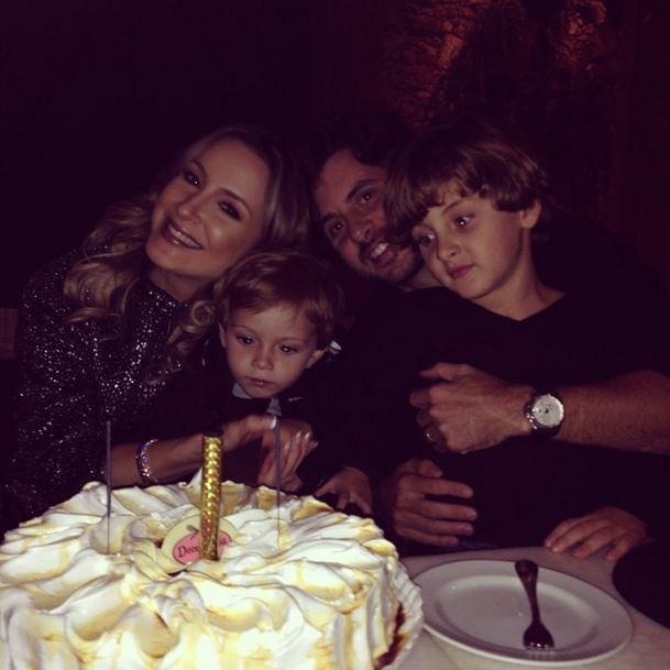 Claudia Leitte e familia (Foto: Instagram/Reprodução)