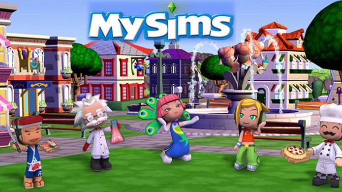 Com uma identidade visual própria, MySims tentou conquistar um público diferente (Foto: skysims2.com)