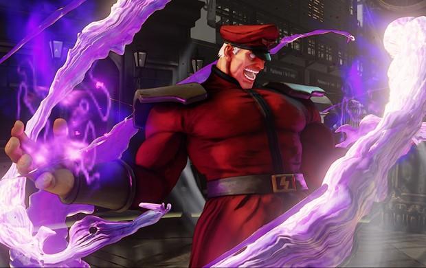 M. Bison fica muito mais forte depois de ativar seu V-Trigger em 'Street Fighter V' (Foto: Divulgação/Capcom)