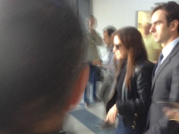 Mônica Moura ficou presa por cerca de cinco meses (Foto: Marcelo Rocha/RPC)