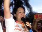 Em discurso, Antonieta agradece eleitores e Farid fala em '3º turno'
