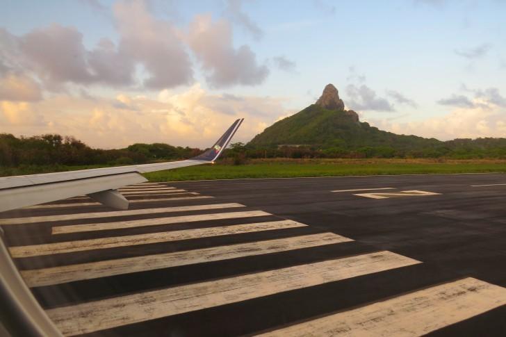 Pista do Aeroporto de Fernando de Noronha 2