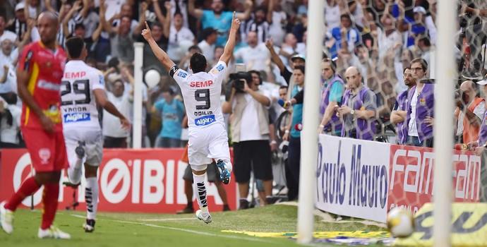 Santos x Audax - Ricardo Oliveira (Foto: Marcos Ribolli)