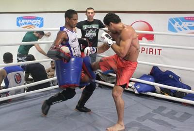 Renan Barão, treino UFC MMA (Foto: Marcelo Barone)